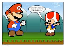 Paper Mario: The Old Excuse by emilhedgehog