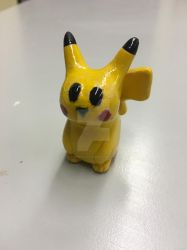 Ceramic Pikachu by Muse-4-Life