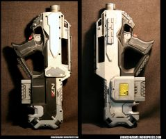Mass Effect-style Nerf Rayven - Non-Standard Issue by JohnsonArmsProps