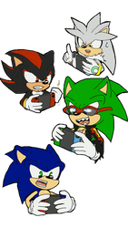 Switching hedgehogs by 4sonicfan