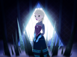 Elsa in Tangled the Series by Toyboy566