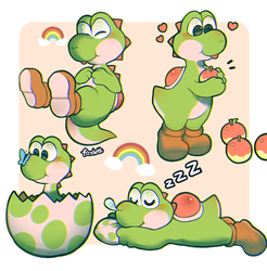 Yoshi by foxlett