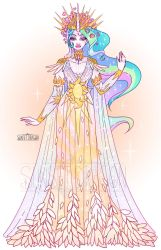 MLP Design: Celestia by Flying-Fox