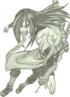 Orochimaru by D1ckBasterdly