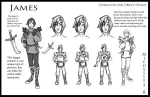 James Character Profile by LordMaru4U