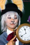 AIW White Rabbit with clock by MyCosPlayPhotos