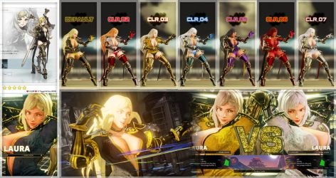 [SFV MOD] - DRAG-ON DRAGOON 3 FIVE - Laura C4 by TiggieWhite