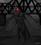 Mothman by SUCHanARTIST13