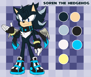 (Young) Soren The hedgehog by hikariviny