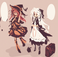 maid and witch by yagamisiro