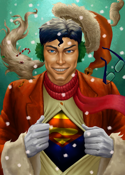 S-for-santa-or-superman by stelamoris