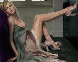 charlize theron by raffa3le