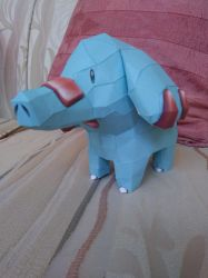 Phanpy Papercraft #2 by Amber2002161