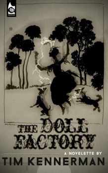 The Doll Factory - ebook cover by gaborcsigas