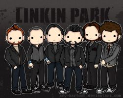 Linkin Park by koy-kartoon