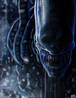 Xenomorph thingy by Rhunyc