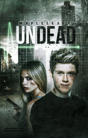 Undead // Book Cover by moonxriver