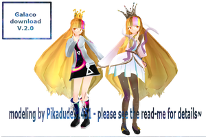MMD Galaco download V.2.0. by Pikadude31451