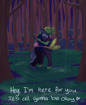 It's okay to cry by mangaJag