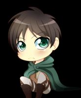 Chibi Eren (Animated) by Toukoni