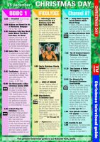 Christmas UK TV Guide by MalcolmKirk
