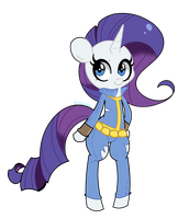 Fallout Rarity by turtlefarminguy