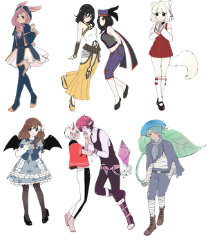 commission batch 12 by Aimian