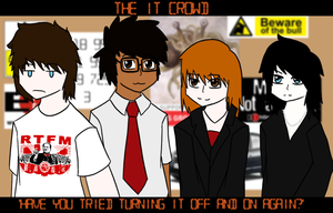 The IT Crowd trade by just-Abigail