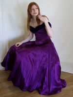 Seated in Purple 3 by chamberstock
