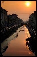 Streets of Milan I by villewilson