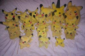 Pika Plush Collection by 1Meh1