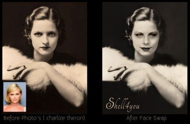 Charlize Theron Face Swap by Shell4You