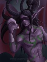 WIP - Illidan by Namwhan-K