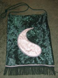 Green Ajah Aes Sedai bag by Stars-of-the-Water