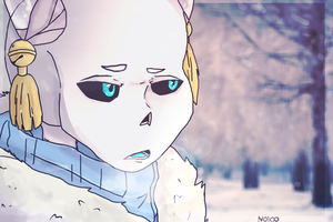 YCH COMMISSION | SAD SNOW | 1 DONE by Noioo