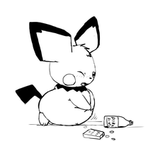 Chubby Chu Belly Inflated by Alvro