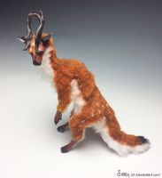 Poseable Fawnling Doll commission SOLD . by Sovriin