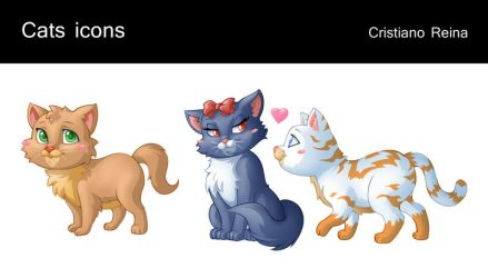 Cats icons by CristianoReina