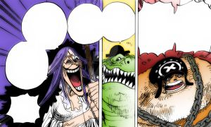 One Piece Chapter 847+ Luffy and Big Mom. by Amanomoon