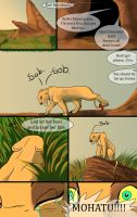 The dark lion page 1 by Mydlasfanart