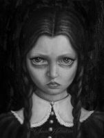 Wednesday Addams by SandraHultsved