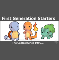 FIRST GEN POKEMON FTW by TamilaB