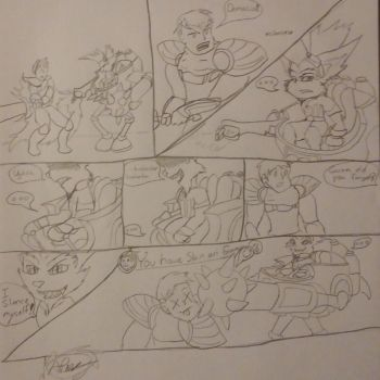 Rumble Vs Garen Comic by Tiera-The-Yordle