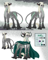 Hel reference by Aurialudzic