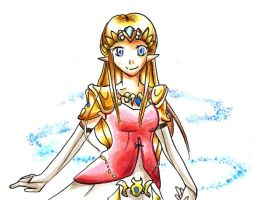 Princess Zelda by WingJourneys