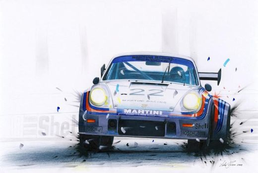 Porsche 911 RSR turbo by klem