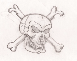 Skull and bones by UnicronHound