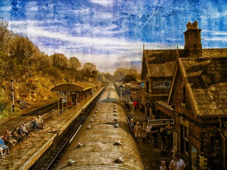 Old station by runwhat
