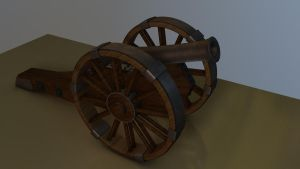 Cannon by 3Dapple
