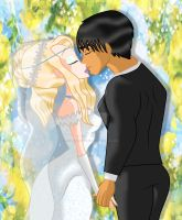 Aurora and Jackson getting married by HybridCatgirl995